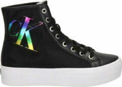 Calvin Klein Vulcanized dames platformsneaker - Zwart - Maat 40