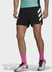 Zwarte Adidas Terrex Agravic Tech Pro Trail Running Short