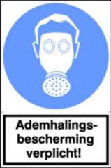 Artelli Sticker Ademhalingsbescherming verplicht! (Prijs per stuk)