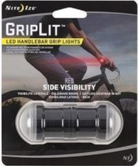 Rode NITE IZE GripLit HANDLEBAR Red LED (2pack) GLT-10-R7 Fietslicht Fietslamp