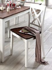 KLiNGEL 2er Set Stühle aus Massivholz