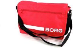 Rode Bjorn Borg Björn Borg Base line Flyer low Reportertas Rood