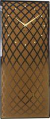 NeXtime Pendula - Klok - Stil Uurwerk - Slinger - Glas - Rechthoekig -70 cm - Koper