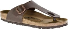 Bruine Birkenstock Ramses BF Regular Fit Heren Slippers - Brown - Maat 38