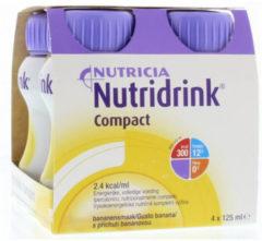Nutricia Nutridrink Compact banaan - 4 x125 ml