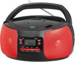 Trevi CMP 524 MP3 Boombox mit CD und MP3 - rot