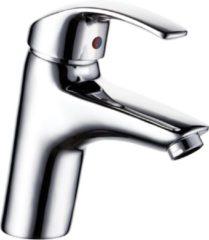 SanitairZone Aloni Euro Verhoogde Wastafelmengkraan Met Waterbesparing Chroom