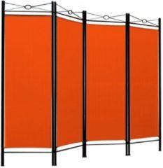 Merkloos / Sans marque Monzana Kamerscherm - 180cm - x - 163cm - in - Oranje