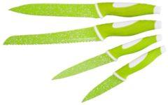 Messerset 4tlg. Stoneline grün