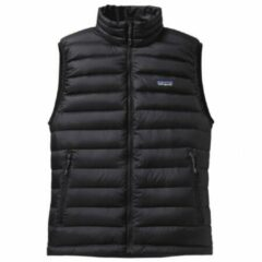 Zwarte Patagonia - Down Sweater Vest - Donzen bodywarmer maat XXL zwart