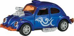 Toi Toys BV Hot Rod Kever Beetle Metal (Donkerblauw) Toi-Toys 13 cm - Modelauto - Schaalmodel - Model auto