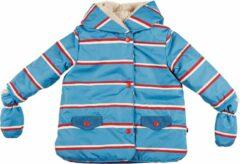 Blauwe Ducksday - winterjas waterdicht voor baby - unisex - Benjamin - 68