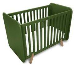 Donkergroene Ukkepuk meubels Vrolijk ledikant legergroen