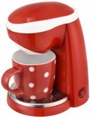1-Tassen-Kaffeeautomat Efbe-Schott rot-weiß-gepunktet