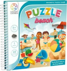 SmartGames Smart Games Magnetic Travel: Puzzle Beach