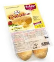 Schar Ciabattine precotte senza glutine 4x50g
