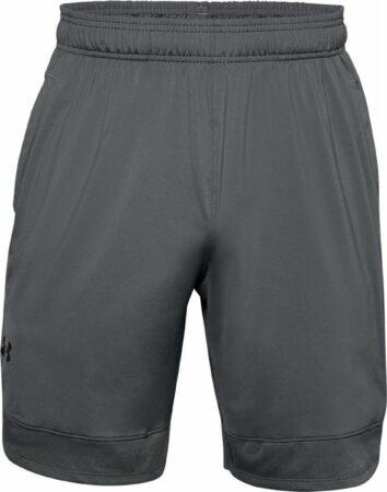 Afbeelding van Grijze under armour train stretch shorts sportbroek heren