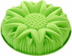 Diamondheart Zonnebloem Siliconen Bakvorm, Taartvorm, Cakevorm, Bakmat, Bloem Bakvorm. Zeepvorm