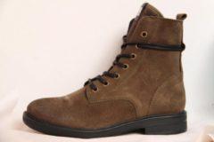Groene Maruti Anabela dames boot - Khaki - Maat 38