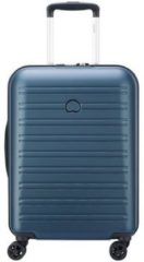 Delsey Segur 2.0 Slim 4 Wheels Trolley 55 blue Harde Koffer