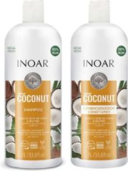 Inoar Keratine Inoar Coconut Shampoo & Conditioner 1000 ML