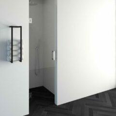 Saniclass Create douchedeur 60x200cm profielloos met antikalk en 8mm veiligheidsglas chroom glans 4JC13-60ch