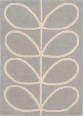 Orla Kiely - Giant Linear Stem 59404 Vloerkleed - 120x180 cm - Rechthoekig - Laagpolig Tapijt - Landelijk, Scandinavisch - Grijs, Wit