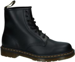 Dr. Martens Dames Laars 1460 Black Smooth Boots Zwart