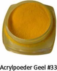 Oranje Isabelle Nails Acrylpoeder Geel #33