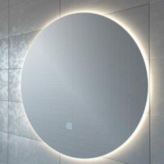 Adema Circle badkamerspiegel rond diameter 100cm met indirecte LED verlichting met spiegelverwarming en touch schakelaar JG1112-1000