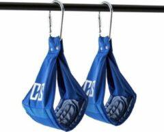 Blauwe Capital_sports CAPITAL SPORTS Amlug Ab Slings arm banden metalen karabijnhaak - draagvermogen van maximaal 120 kg