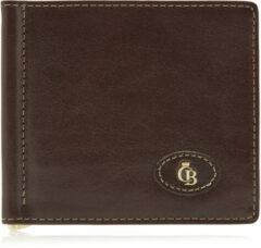 Castelijn & Beerens Gaucho Billfold met Dollarclip RFID Mocca