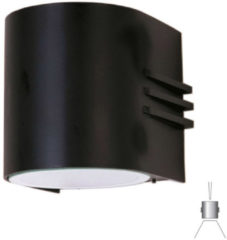 Albert Wandlamp Facade met 2 powerleds up en down Albert-Leuchten 662307