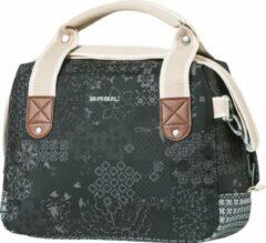 Zwarte Basil Boheme City Bag Stuurtas - 7 l - Charcoal