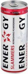 Gele Slammers energy drink 24x 250 ml