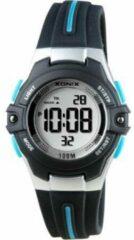 Xonix digitaal kinder horloge Zwart/Blauw BAB-005