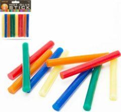 HANDY - Lijmpistool Vullingen Gekleurd - Lijmpatronen 11MM Rond - 100MM Lang - Lijm Patronen voor Lijmpistool O.A. Handy Lijmpistool