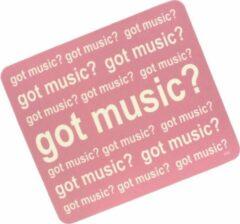 AIM Muismat 'Got Music' roze