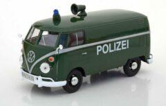 """Groene Motor Max Volkswagen T1 Bus Kastenwagen """"Polizei"""" 1-24 Motormax"""