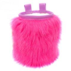 Crafty Climbing - Furry Chalk Bag - Pofzakje roze