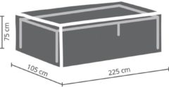 Antraciet-grijze MAXX - Buitenhoes voor tafel - rechthoekig - 220 cm