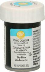 Wilton Eetbare Voedselkleurstof Lichtblauw - Icing Color 28g