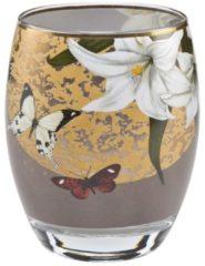 Lilies Grey Windlicht Artis Orbis Goebel Bunt