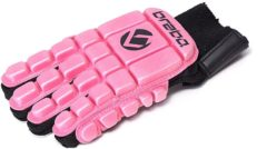 Brabo Full Finger Foam F3 Jr. - Zaalhockeyhandschoen - Links - Maat XXS - Roze