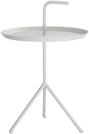 Afbeelding van Witte Hay DLM XL Bijzettafel 50 (h) x Ø 48 cm - Wit