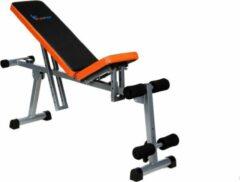 Oranje Viking Choice Sportbank - opklapbaar - multifunctioneel - volledig instelbaar
