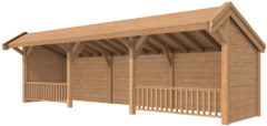 Woodvision Douglasvision | Kapschuur Modulair 600 x 349 | Voorbeeld 2