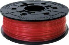 Rode XYZprinting da Vinci REFILL PLA Clear Red 600gr