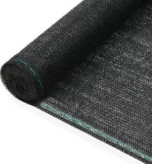 VidaXL Tennisnet 1,4x50 m HDPE zwart