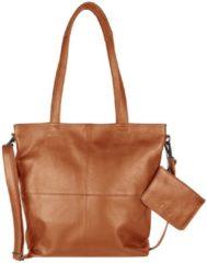 Bruine Black Friday Korting. Chabo Bags Shopper Street OX Kate Camel nu voor € 160.55